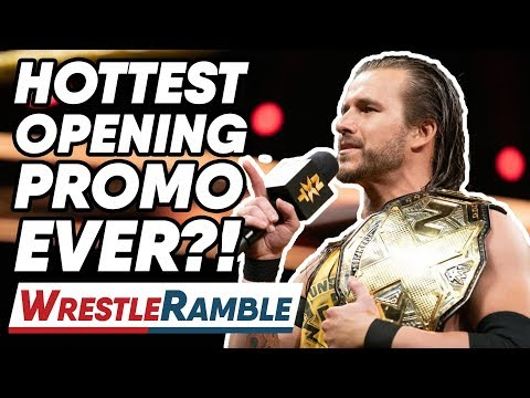 WWE NXT Hottest Opening Promo EVER?! WWE NXT June 20, 2019 Review | WrestleTalk's WrestleRamble