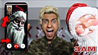 DO NOT FACETIME SANTA CLAUS AT 3AM!! *OMG HE ACTUALLY CAME TO MY HOUSE*