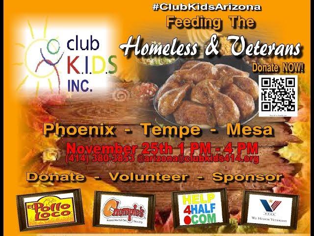 Feeding The Homeless and Vets AZ