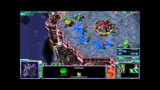 starcraft 2 commentary broodwar gamers tour zokkar z vs nesh z ro8 game 1