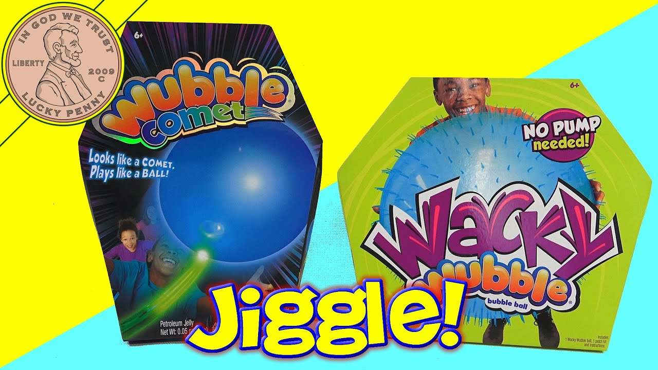 Its Alive! Wacky Wubble & Wubble Comet Inflatable Balls