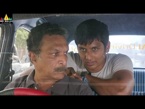 Rangam 2 Movie Jiiva Comedy With Nassar | Latest Telugu Movie Scenes | Sri Balaji Video