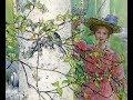 CARL LARSSON ( 1853-1919) Swedish artist ✽ Music: Ernesto Cortazar - Nights Of Silk And Tears