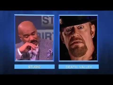 Undertaker Interrupts Steve Harvey Show