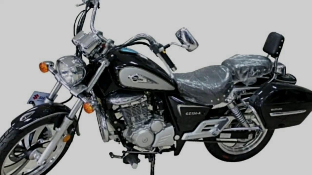 2017 Suzuki Gz150 150cc Cruiser Bike Youtube