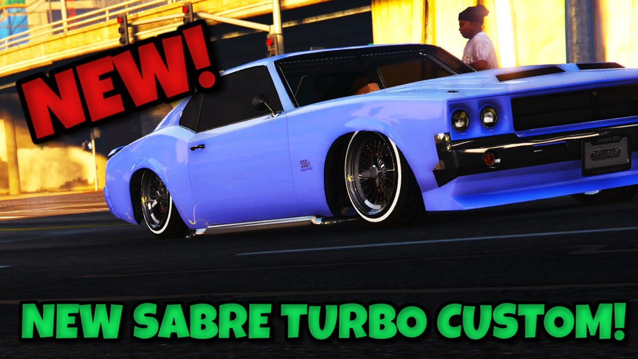 Gta 5 Lowrider 3 Dlc New Fastest Muscle Car Sabre Turbo Custom