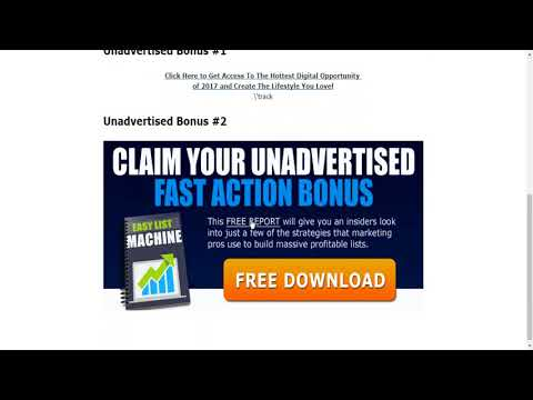 TE List Builder Review - Make Money With Traffic Exchanges while Building Your Email List