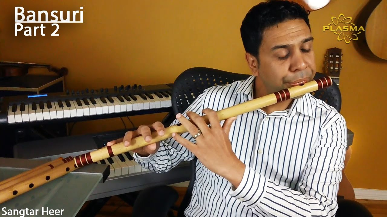Learn to Play Bansuri - Part 2 - Holding and Producing ...