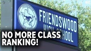 School district eliminates class rank