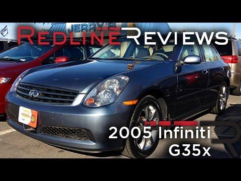 2005 infiniti g35 sedan review
