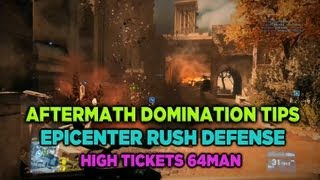 How to dominate Aftermath Rush Defense on Epicenter for Battlefield 3 (64man high tickets)