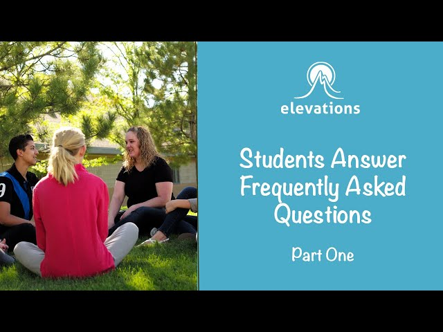 Students Answer Frequently Asked Questions Pt. 1 | Elevations RTC