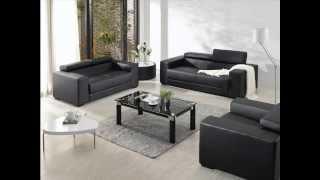 Divani Casa 2909   Modern Bonded Leather Sofa Set
