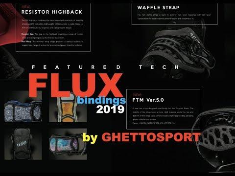 сноуборд крепления FLUX - обзор коллекции 2019.