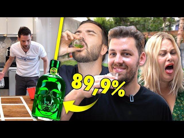 Tu perds, tu bois les alcools les plus forts du monde #2