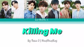 Treasure J - Killing Me  죽겠다  Of Ikon  가사/color Coded/han|rom|eng Lyrics