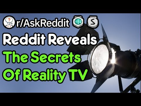 Off-Screen Secrets Of Reality TV Revealed (Reddit Stories R/AskReddit)