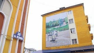 В Воркуте сдали в эксплуатацию отремонтированные дворы