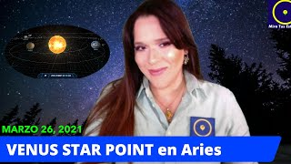 VENUS STAR POINT en Aries EL ECLIPSE DE VENUS