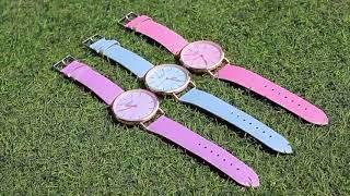 Часы, меняющие цвет на солнце