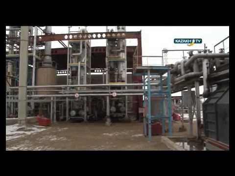 Процесс работы нефтеперерабатывающего завода