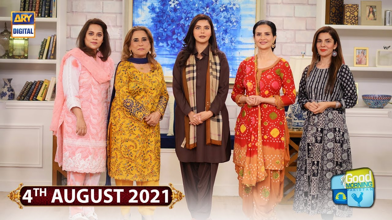 Good Morning Pakistan - Celebrities Cooking Their Favourite Maika & Susral Dishes - 4th August 2