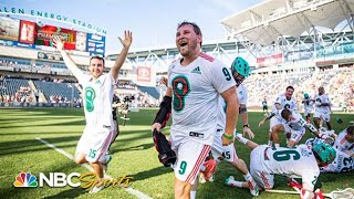 Premier Lacrosse League Championship: Redwoods vs. Whipsnakes   EXTENDED HIGHLIGHTS   NBC Sports