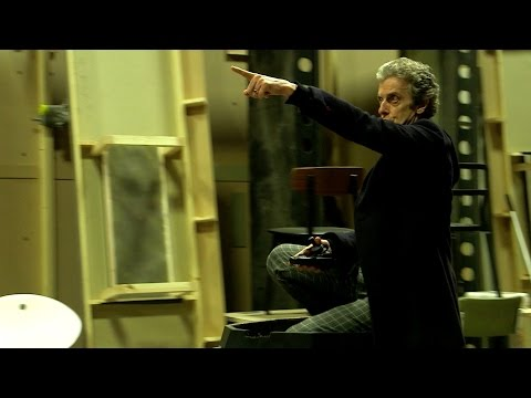 Peter drives Davros' Chair - Doctor Who: Series 9 Episode 2 (2015) - BBC One
