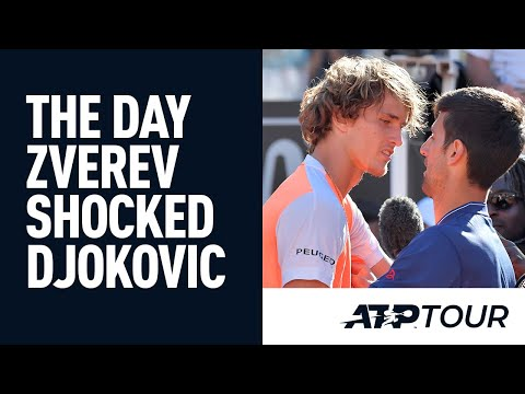The Day Alexander Zverev Arrived | ATP Match Lookback