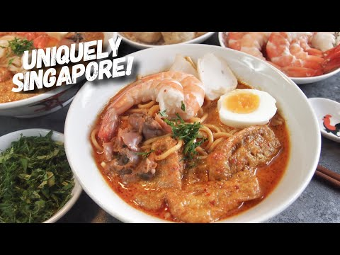 Authentic Singapore Laksa Recipe (Curry Noodles/Mee) Katong Laksa 新加坡叻沙