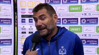 Interviews / Mechelen - Roeselare / Roeselare 27/10/2018