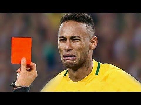 Futbolcuların Şok Eden En İyi 10 Kırmızı Kart Tepkisi - Hakeme Saldırdı.