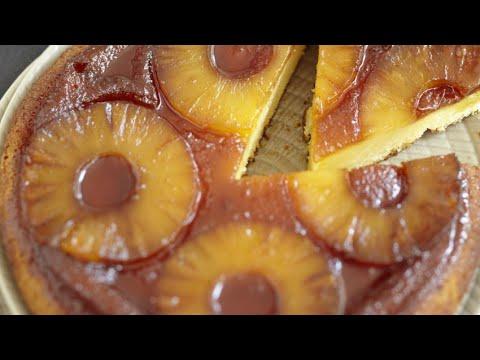 recette:-gâteau-au-yaourt-caramélisé-à-l'ananas