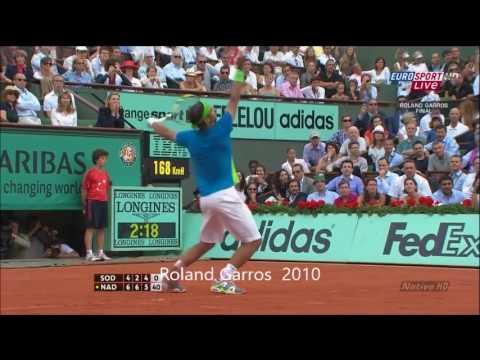 Nadal all 15 grandslam championship points