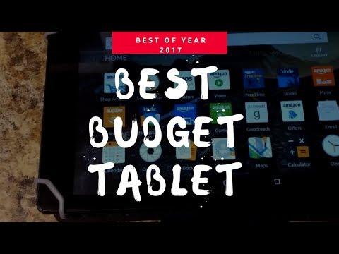 BEST BUDGET TABLET 2017
