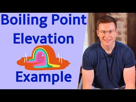Boiling Point Elevation With Example Problem