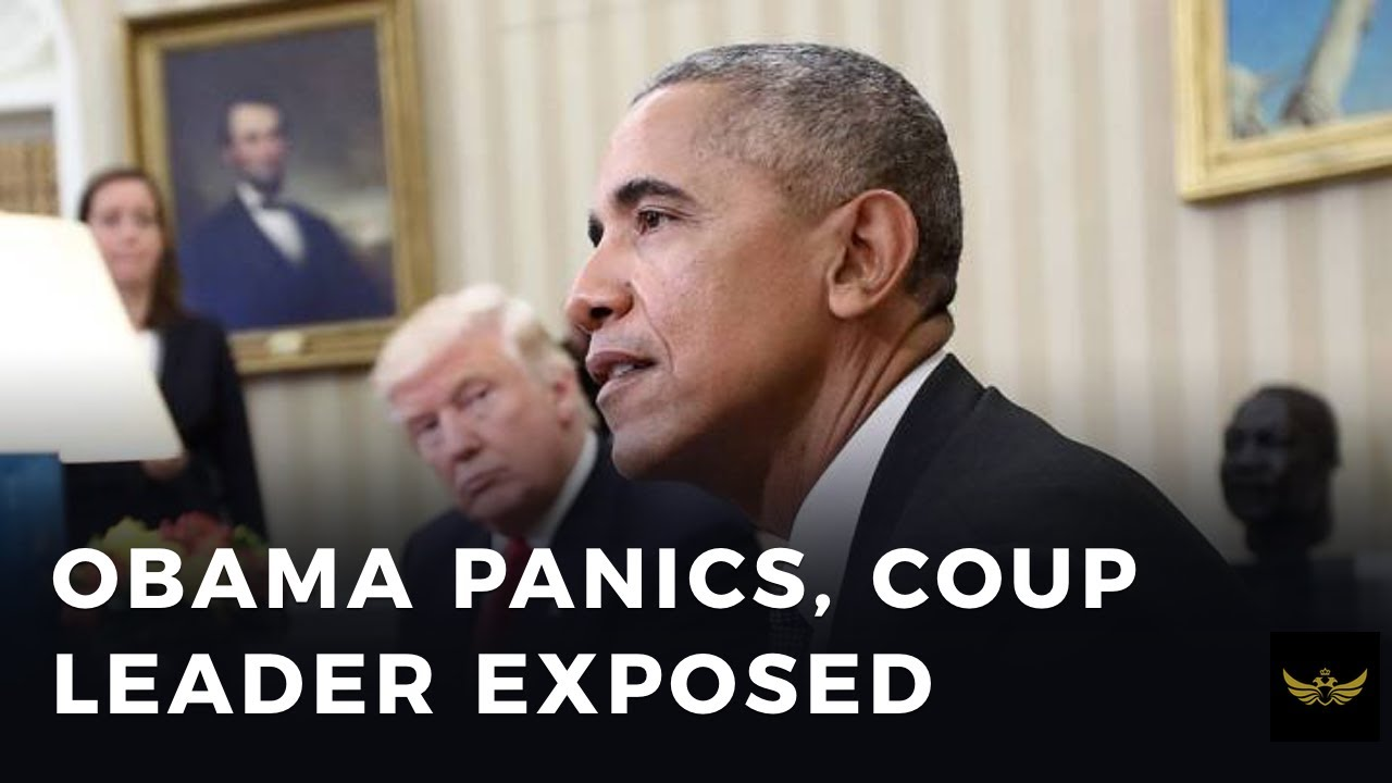 Obama PANICS, as his central role in Russiagate hoax is revealed