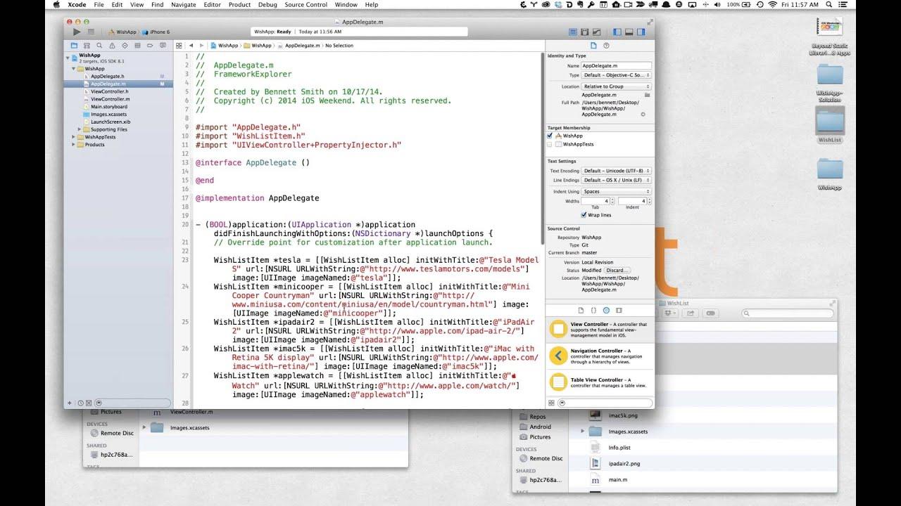 how to add frameworks ios