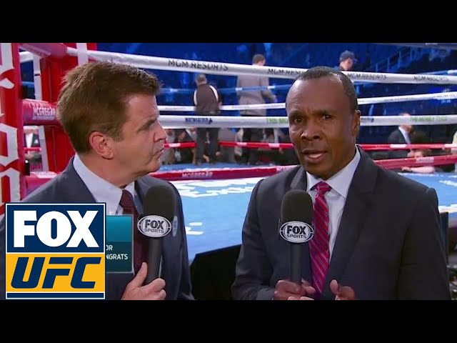 Sugar Ray Leonard, Brian Kenny in talks to call DAZN fights