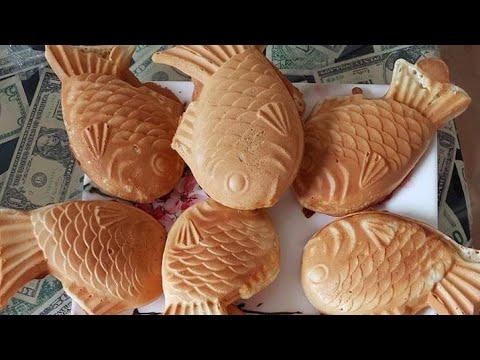 How To Make Taiyaki Fish  4/25/19