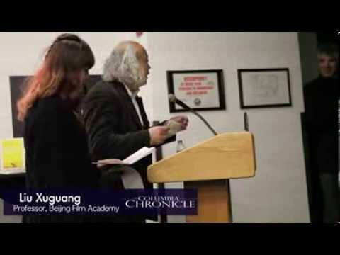Columbia Welcomes Artists from Beijing Film Academy