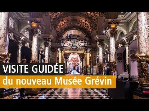 Le nouveau musée Grévin en images. Vidéo YouTube Paris