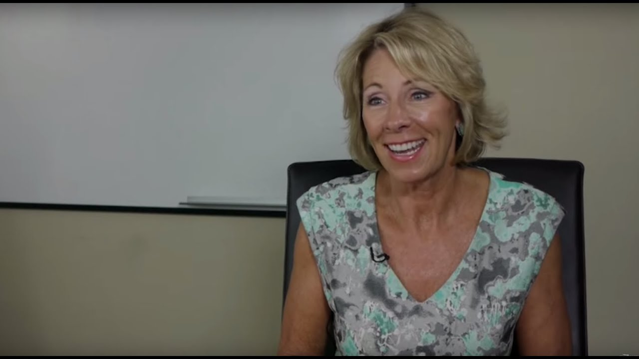 Interview With Betsy Devos Of The American Federation For