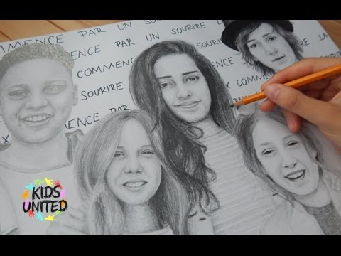Drawing - Kids United
