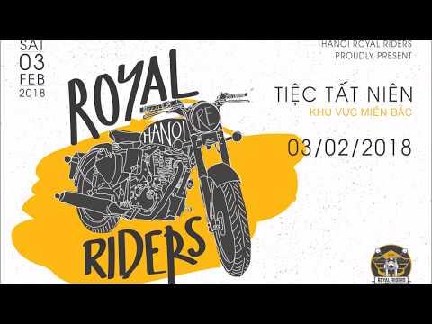 Slide ảnh Họp mặt tất niên 2017 - Hanoi Royal Riders