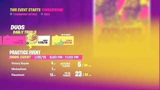 "Obtenir mon PREMIER ""PIN"" dans un POP-UP CUP! 23 POINTS en seulement 3 Jeux contre PC PLAYERS! (Fortnite)"
