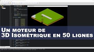 Comment programmer un moteur de 3D Isométrique en 50 lignes de code