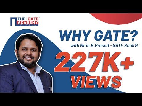 Why GATE with Nitin.R.Prasad - GATE Rank 9 | Lakshya GATE