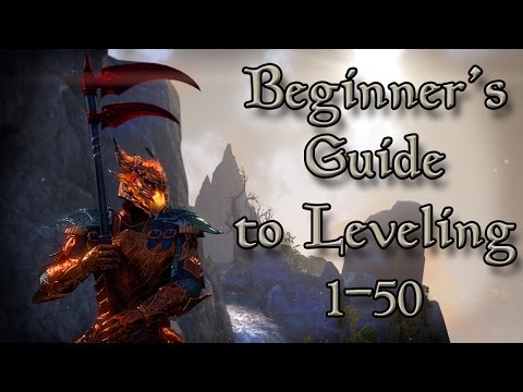 Beginner's Guide to Leveling 1-50 in ESO (Elder Scrolls Online Tips for PC, Xbox One, and PS4)
