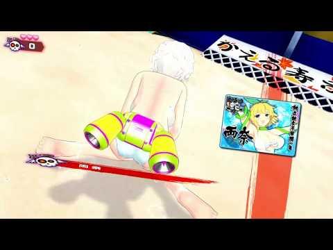 【閃乱カグラ】初ランクマッチ!エロスティックスプラトゥーン!【Part2】